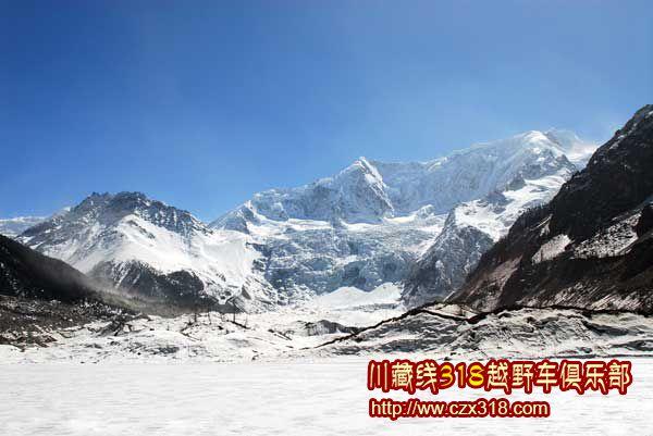 川藏线旅游米堆冰川