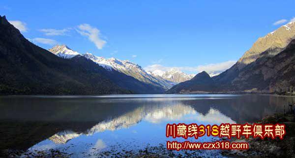 川藏线旅游然乌湖