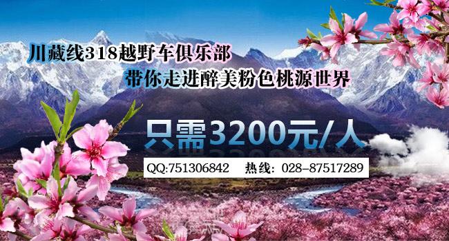 川藏线拼车仅需3200元一人的林芝赏花9日游活动就差你了