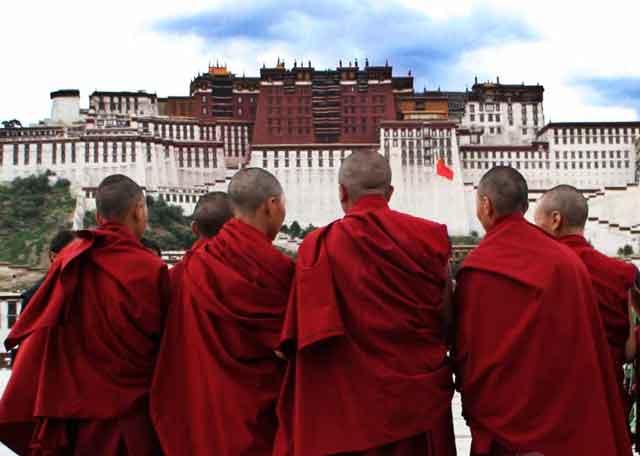 最神秘的宗教(藏传佛教的黄教,白教,花教,红教)
