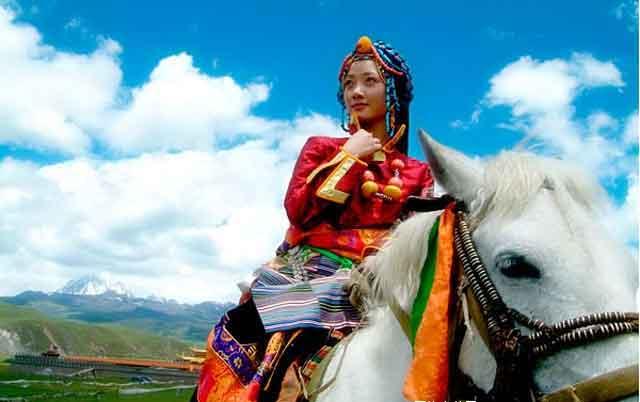 最美的藏族姑娘