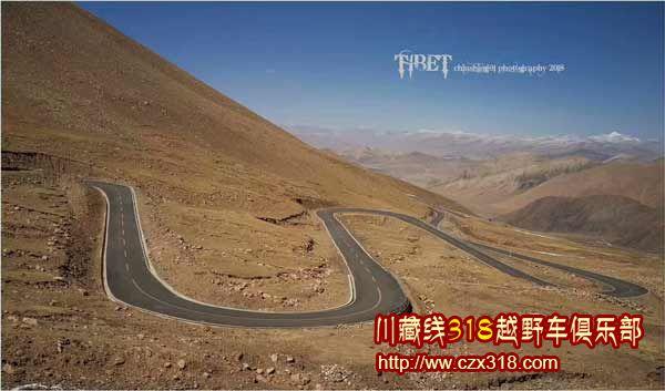 川藏线路段路况图2