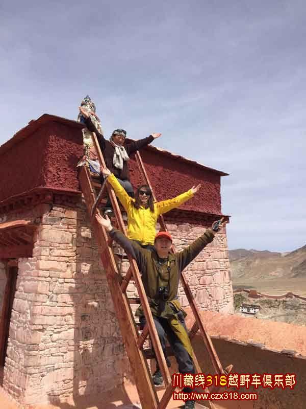川藏线旅游游客
