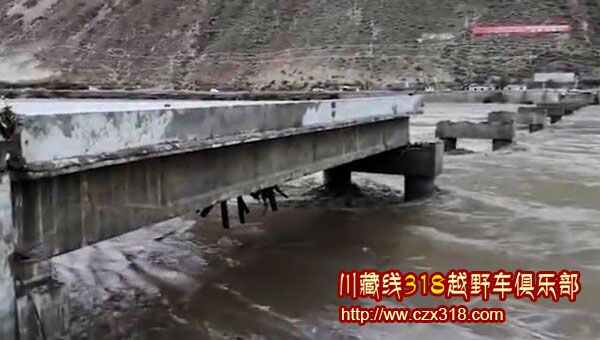 金沙江断桥现况