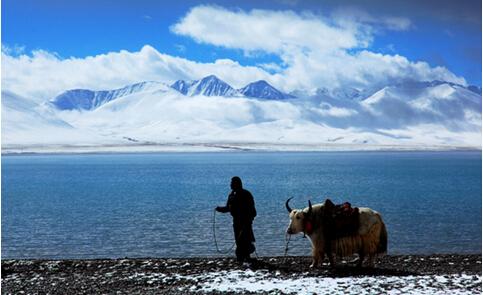 中国最美湖泊--纳木措