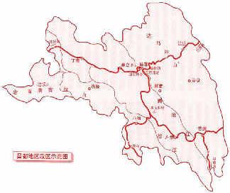 盘山风景区旅游路线图